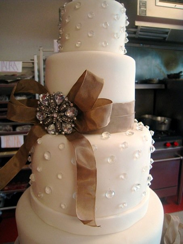 Fabric cake