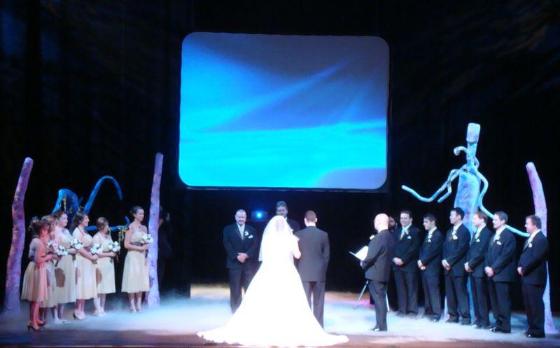 Ceremony stage