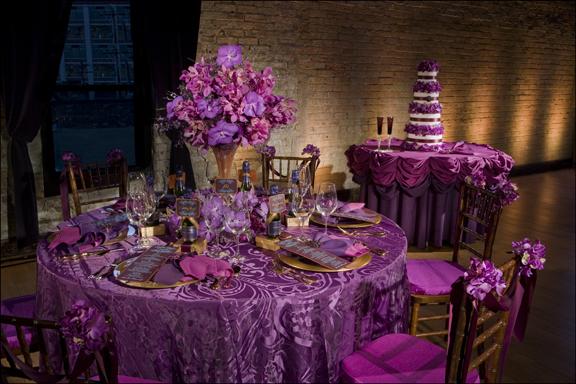 Purple traditional