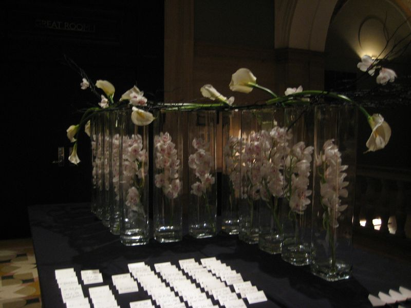 W City Center Hotel Escort Card Table