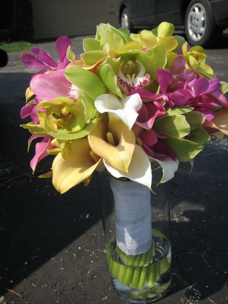 Orchid Calla Bouquet