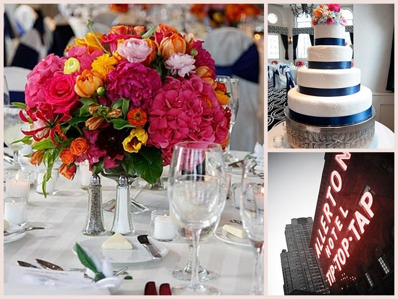 Pink Peony Hydrangea Centerpiece - Allerton Hotel Chicago - Scarlet Petal