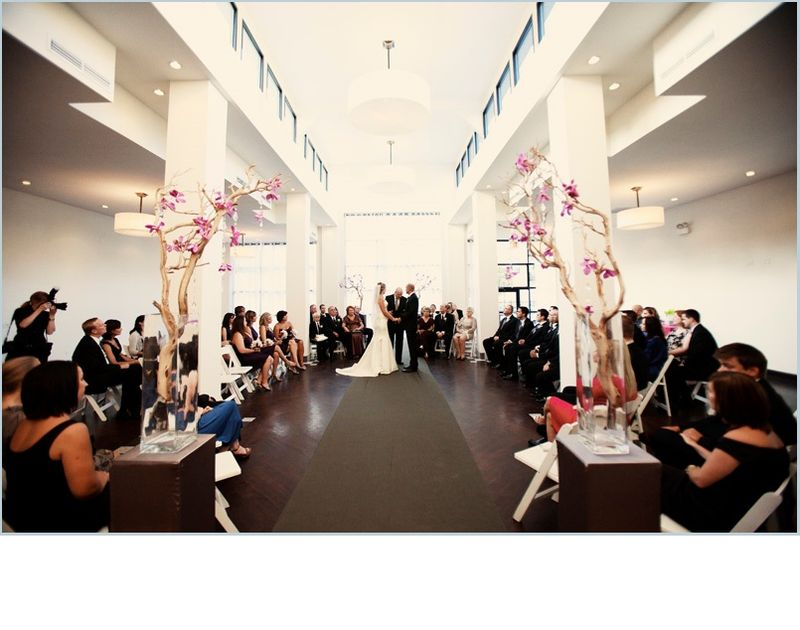 Chicago Illuminating Company Wedding Ceremony_Scarlet Petal
