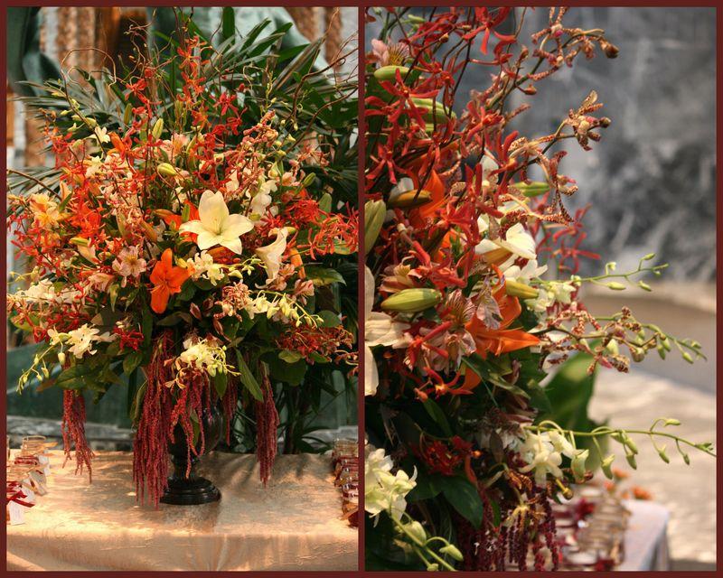 Autumn Escort Card Table_Pazzo's Chicago_Scarlet Petal