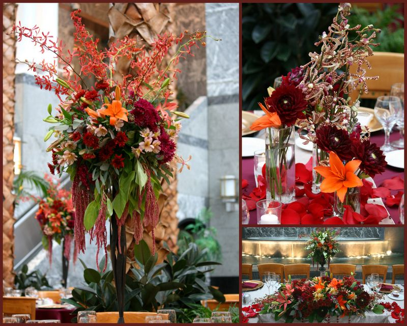 Autumn Centerpiece_Pazzo's Chicago_Scarlet Petal