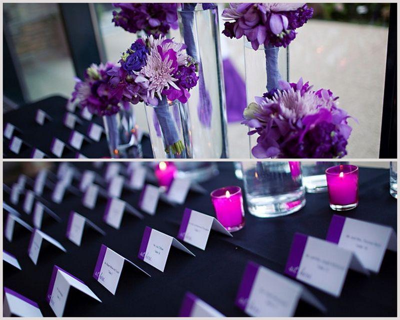 Escort Card Table_Morton Arboretum_Purple