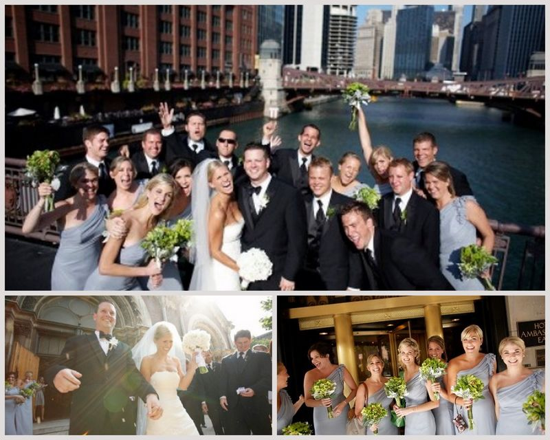 Green and White Wedding Party_Chicago Wedding_Scarlet Petal