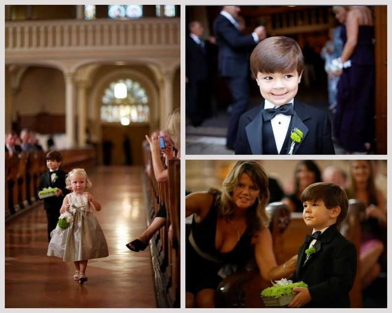 Ring Bearer_Flower Girl_Chicago Wedding_Scarlet Petal