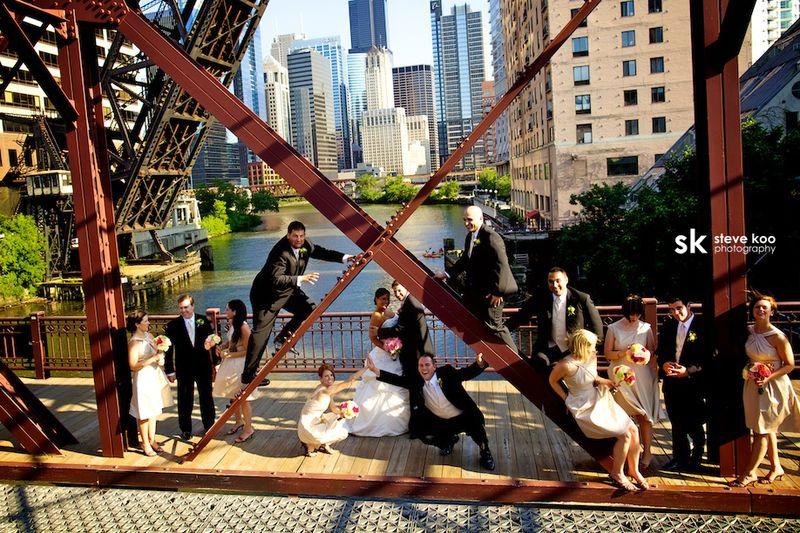 Chicago Bridal Party _ Scarlet Petal