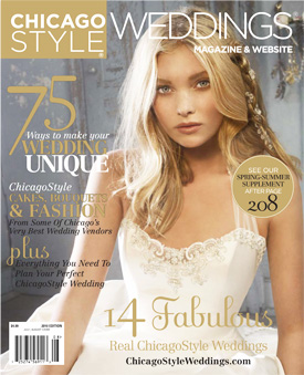 Chicago Style Weddings Magazine Cover