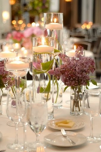 Jen Schefft Wedding Flower Centerpiece - Spiaggia Chicago