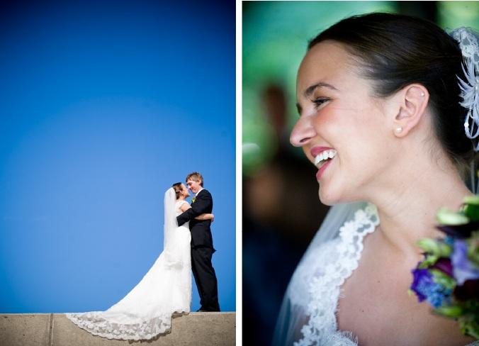 Liz and Chris - Bride and Groom - Chicago Wedding