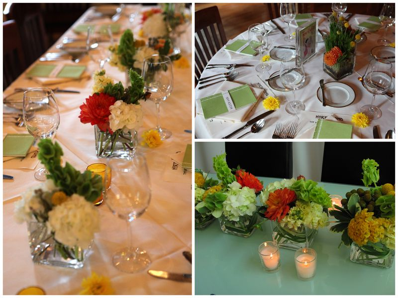 North Pond Restaurant Wedding Centerpiece