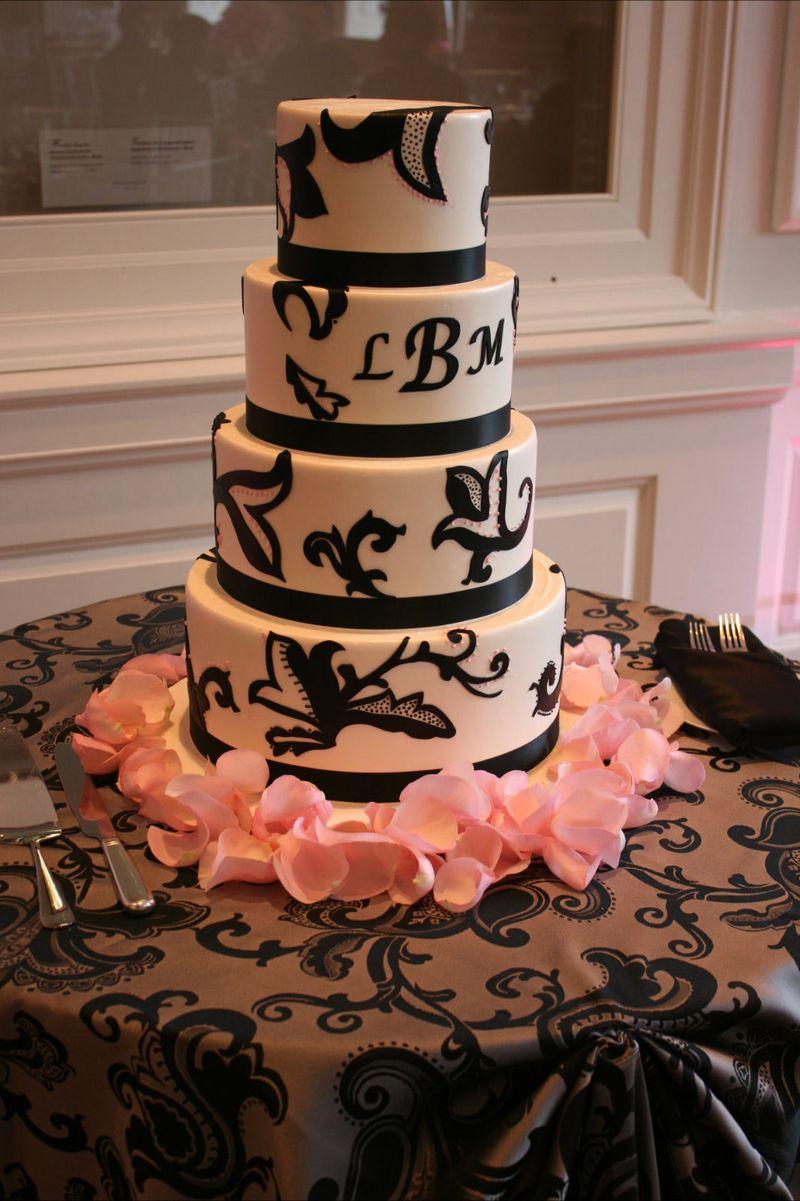 Take the Cake Wedding Cake