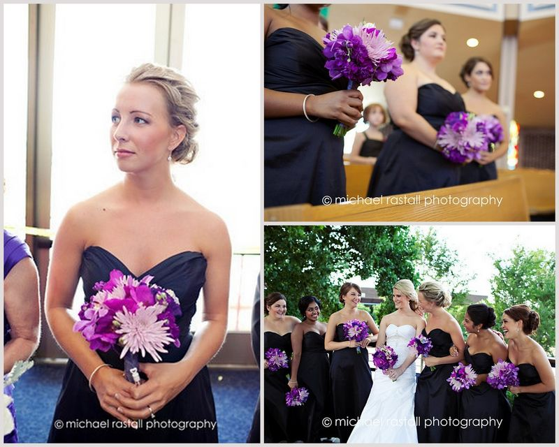 Purple Bouquets Bridal Party_Scarlet Petal