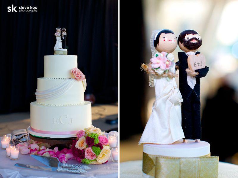 Pink Wedding Cake _ Scarlet Petal