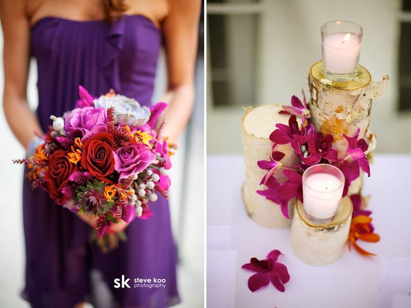 Rose_Kale_Succulent_Purple Bouquet_Scarlet Petal