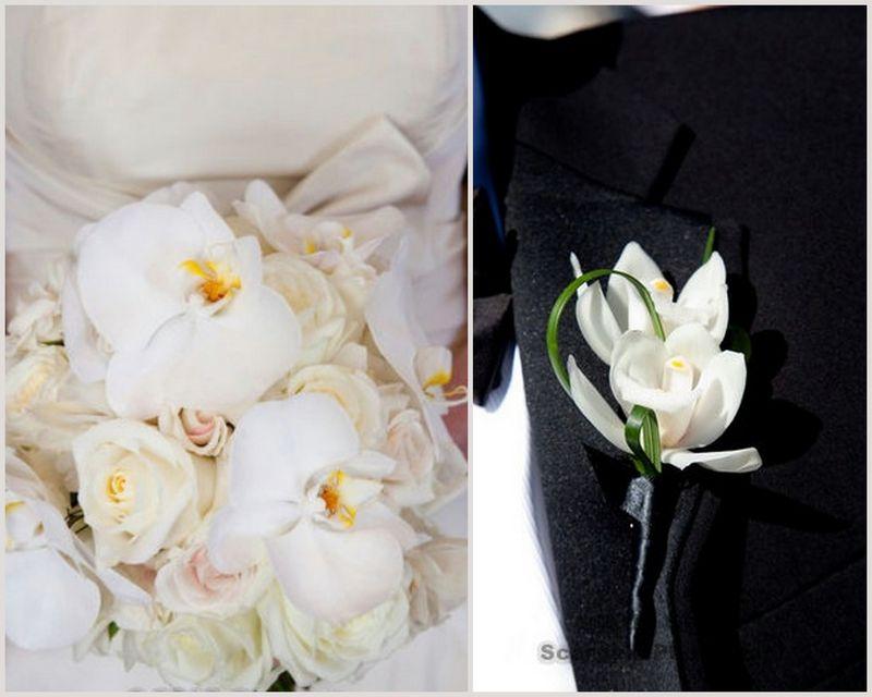 White Orchid Bouquet_Chicago History Museum_Scarlet Petal