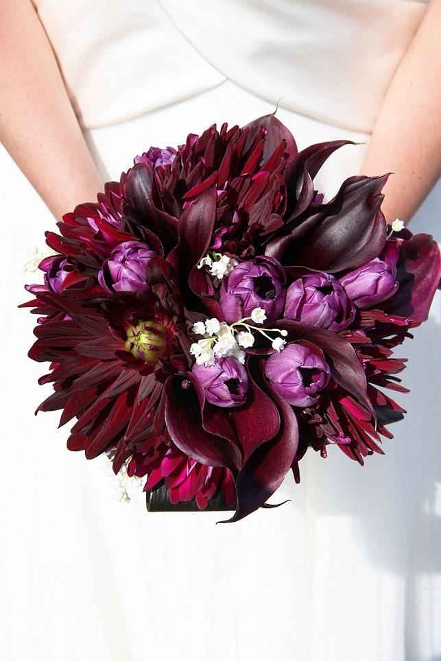 Schwartzwalder Calla Bouquet