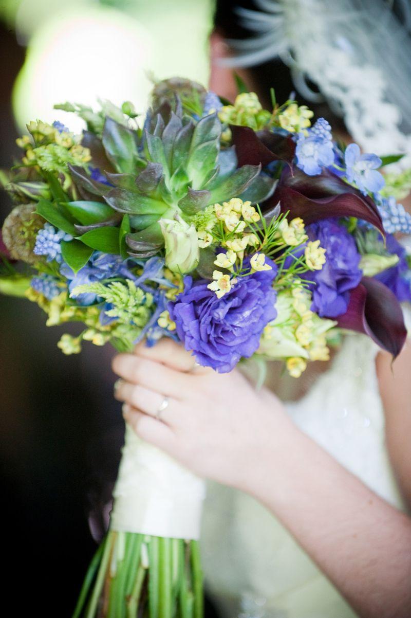 Natural Organic Bridal Bouquet_Scarlet Petal
