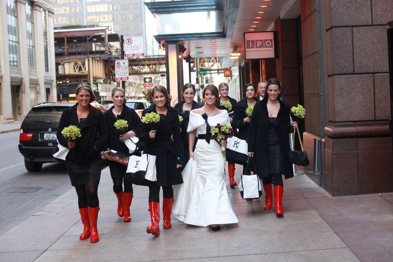 The Bridal Party_Scarlet Petal Weddings