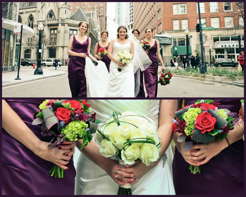 White Rose Bridal Bouquet_Scarlet Petal Chicago