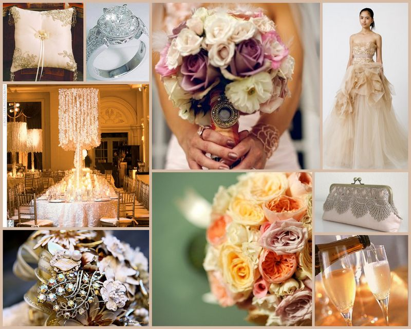 Vintage Wedding Inspiration Board