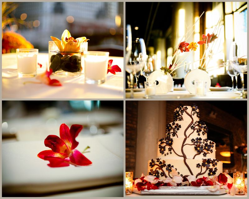 Moon Vase Cymbidium Orchids_Scarlet Petal Wedding