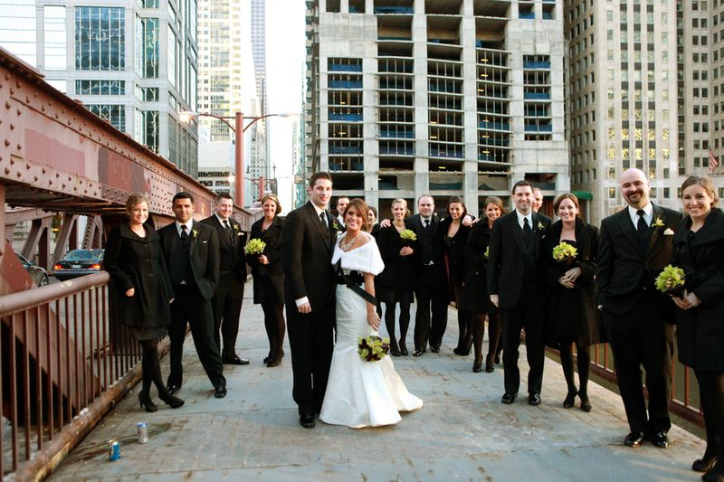 Chicago Bridal Party_Scarlet Petal Wedding