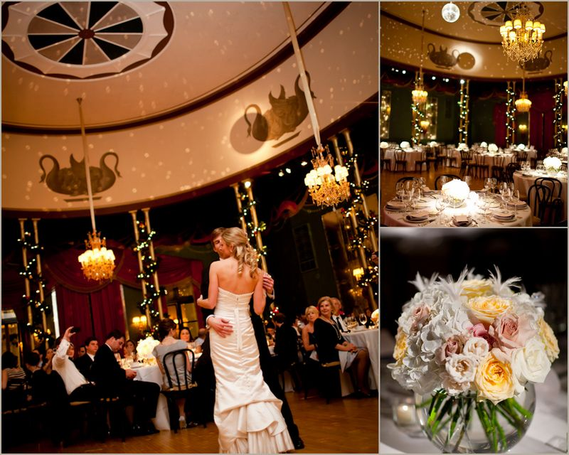 Casino Club Wedding_Rose Centerpiece_Scarlet Petal