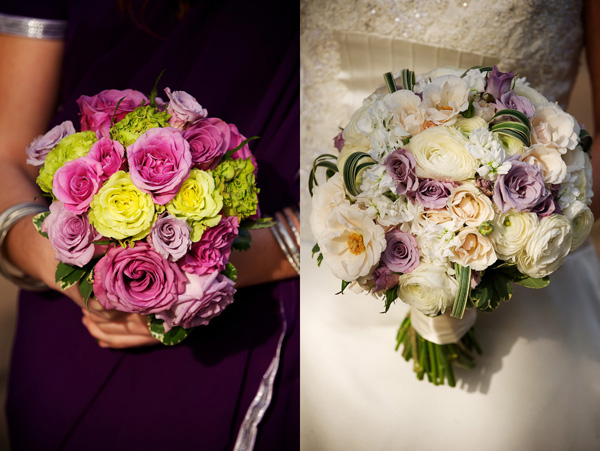 White Ranunculus Wedding Bouquet_Scarlet Petal