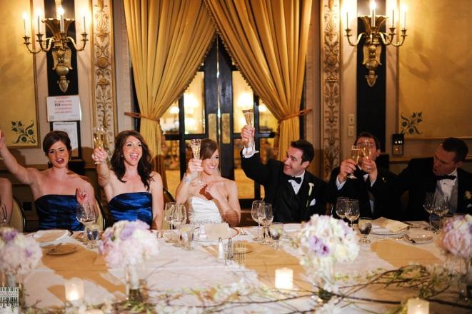 Head Table_Empire Room Palmer House Hilton Wedding _Scarlet Petal Weddings