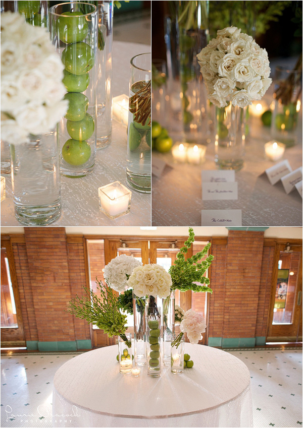 White and Green Escort Card Table_Laurie Peacock_Cafe Brauer Wedding_Scarlet Petal