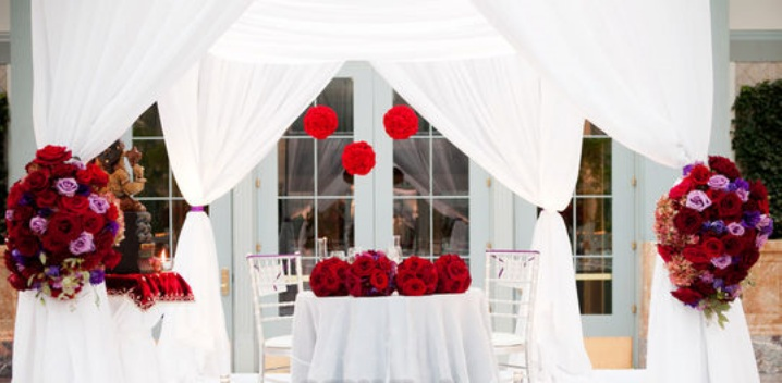 Mandap_Red and Purple_Scarlet Petal