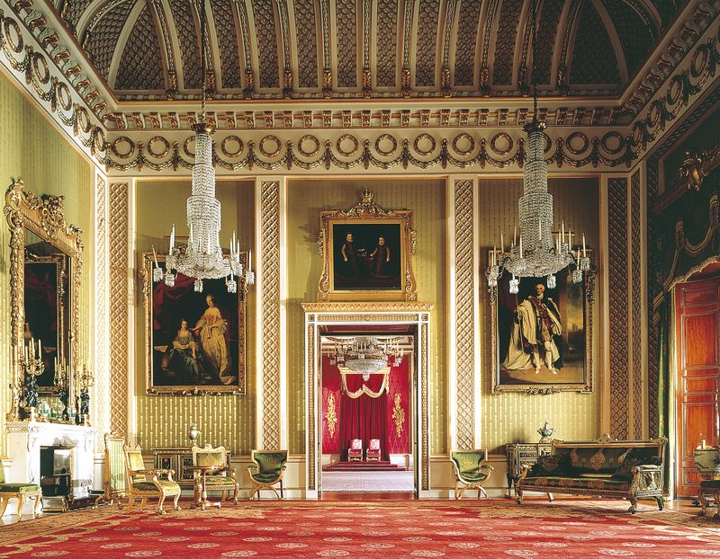 Green Drawing Room Buckingham Palace