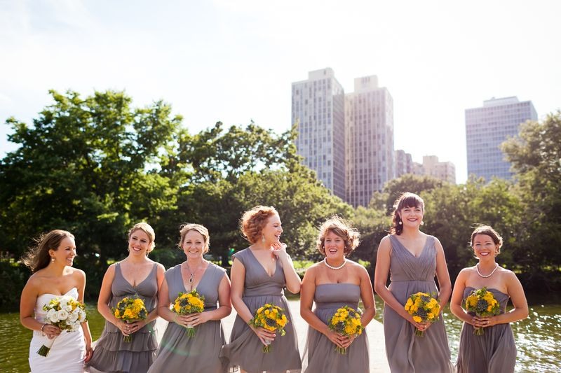 Grey Bridesmaid Dresses_Scarlet Petal