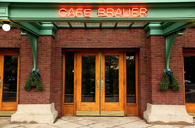 Monogram Letters Front Door Cafe Brauer_Scarlet Petal & Wedding flowers by Scarlet Petal Florist Chicago IL: Cafe Brauer ... Pezcame.Com