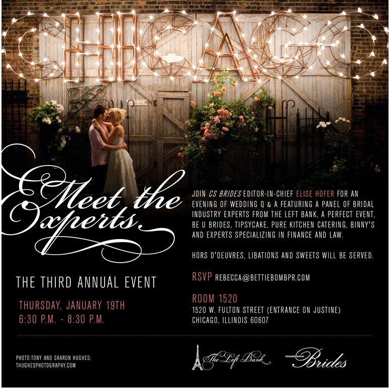 Meet the Experts CS Brides Event