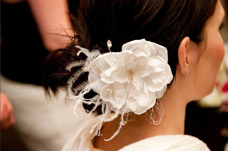 Wedding flowers by scarlet petal florist chicago il flowers for hair silk flower for hair mightylinksfo
