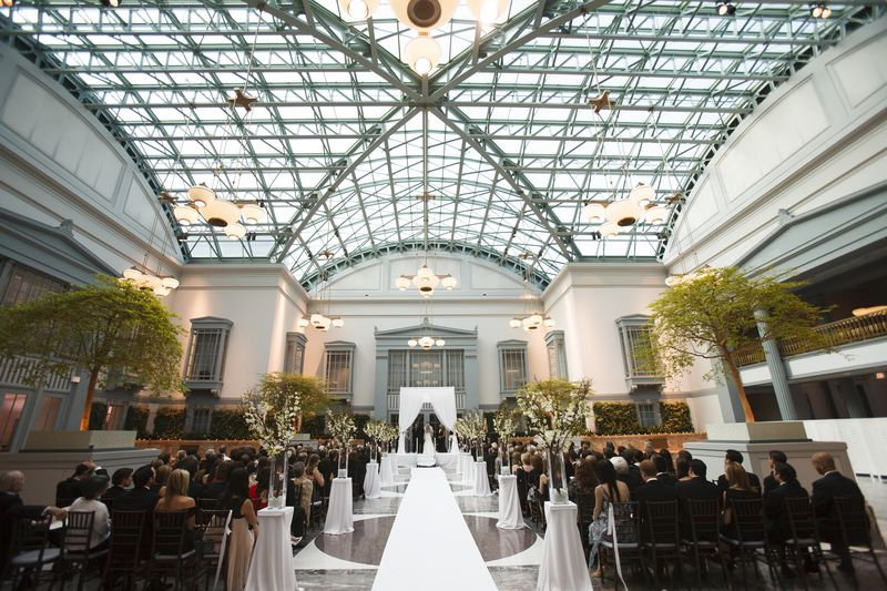 Harold Washington Library Wedding Ceremony _ Scarlet Petal