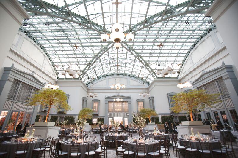 Harold Washington Library Wedding Reception_Scarlet Petal
