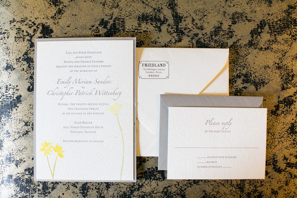 Invitation_Yellow Wedding_Scarlet Petal