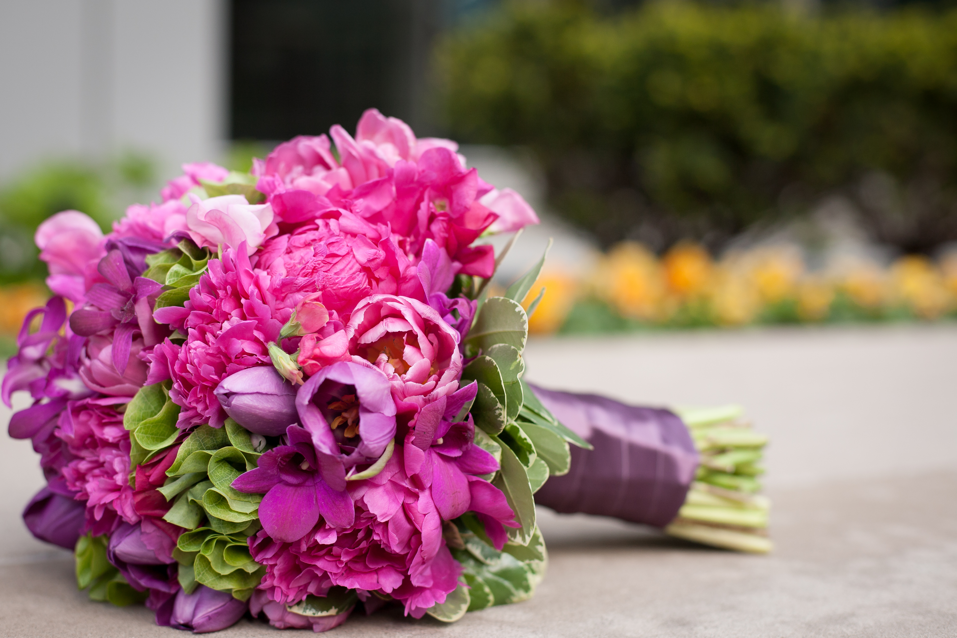 Wedding flowers by Scarlet Petal Florist Chicago, IL: Fuchsia Pink ...