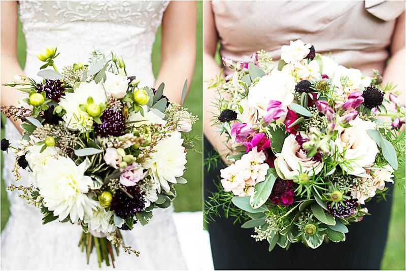 Wildflower Bridal Bouquet _ Scarlet Petal