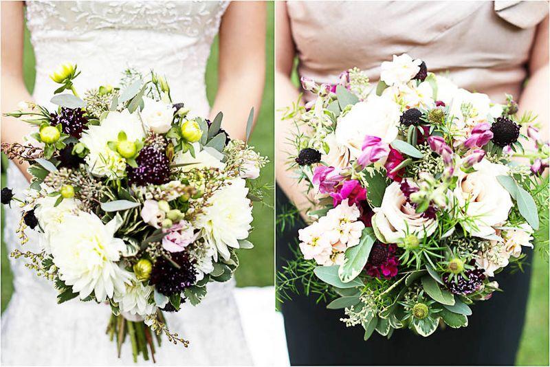 Wildflower Bridal Bouquet _ Scarlet Petal