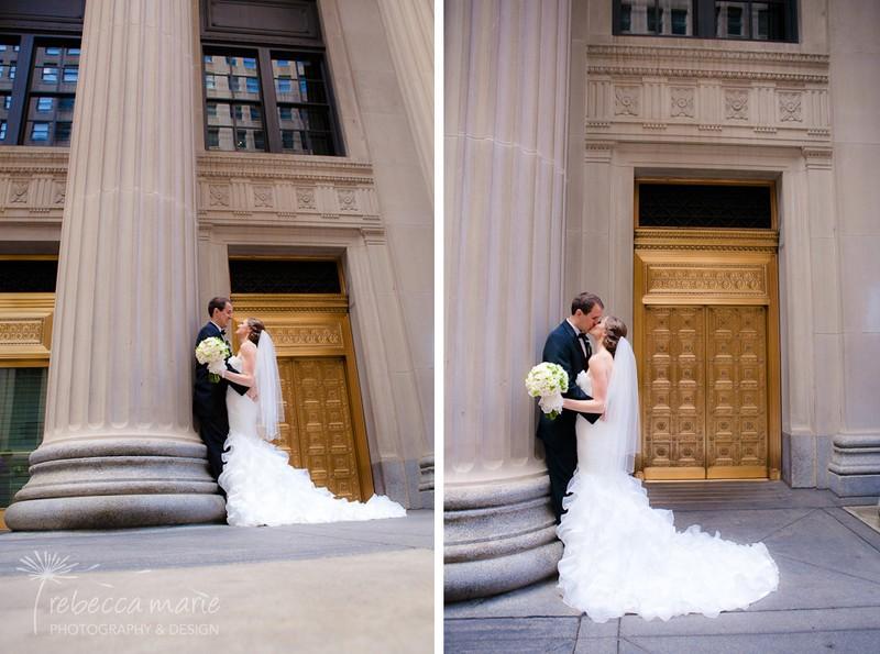 Scarlet Petal Wedding Bride and Groom