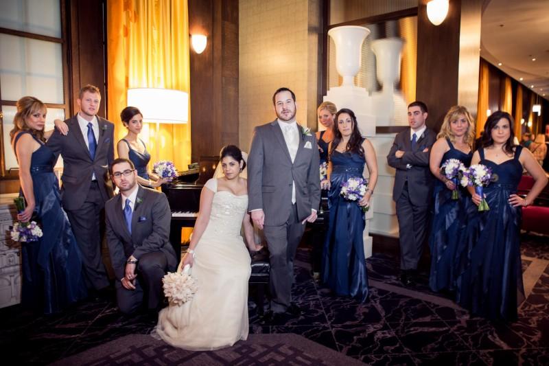 Blue Bridal Party _ Scarlet Petal