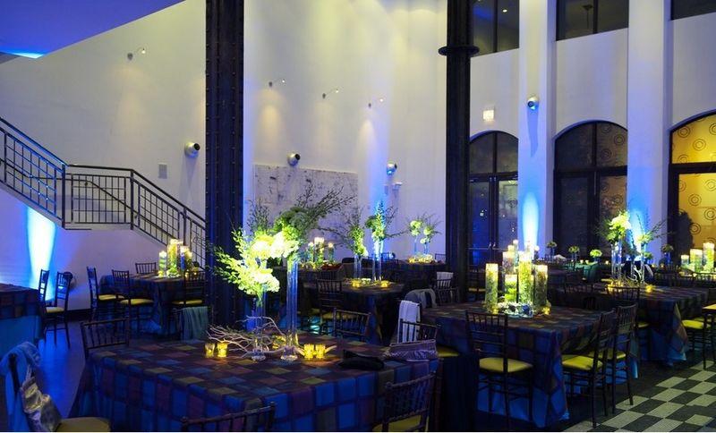 Scarlet Petal _ Blue and Green Wedding _ Chicago Illuminating Company
