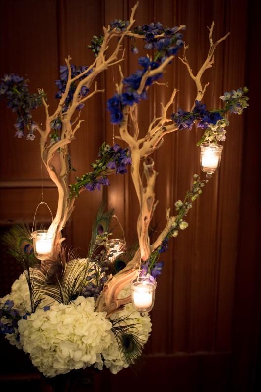 Manzanita Blue Delphinium Arrangement _ Scarlet Petal