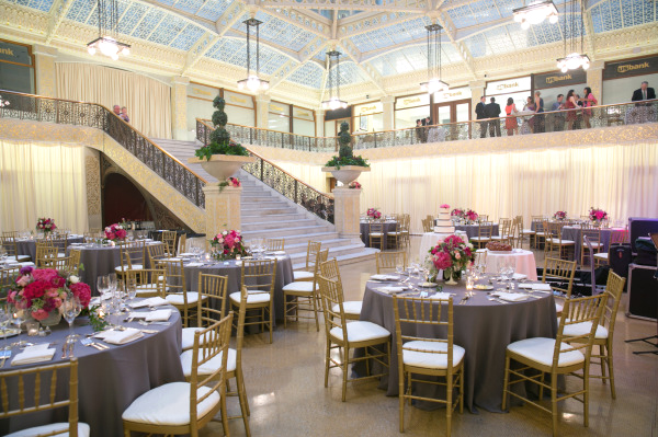 Pink and Grey Reception